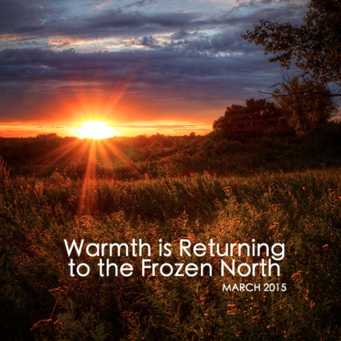 March #jesslist Playlist - Warmth Is Returning to the Frozen North. 1