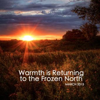 March #jesslist Playlist - Warmth Is Returning to the Frozen North. 19
