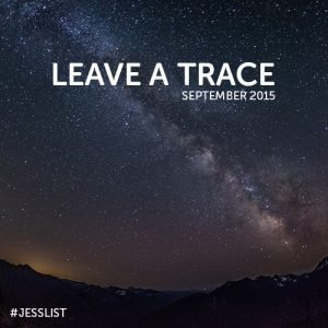 September #jesslist Playlist - Leave a Trace 11